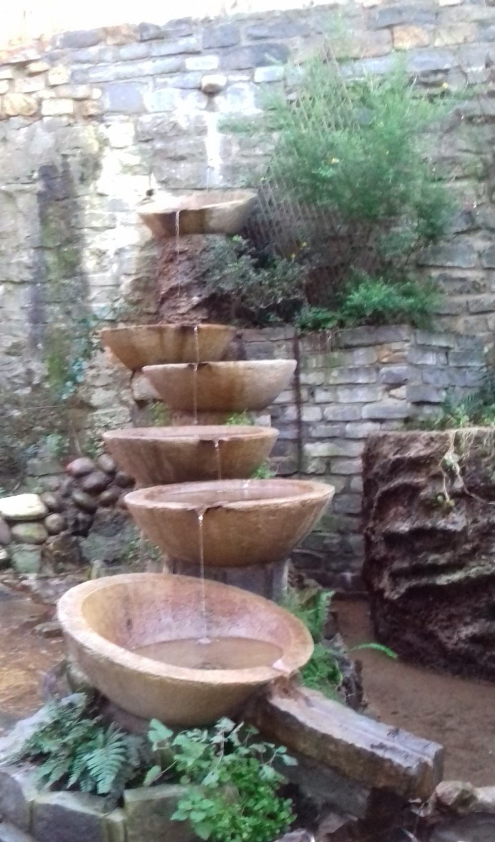 Some small water features