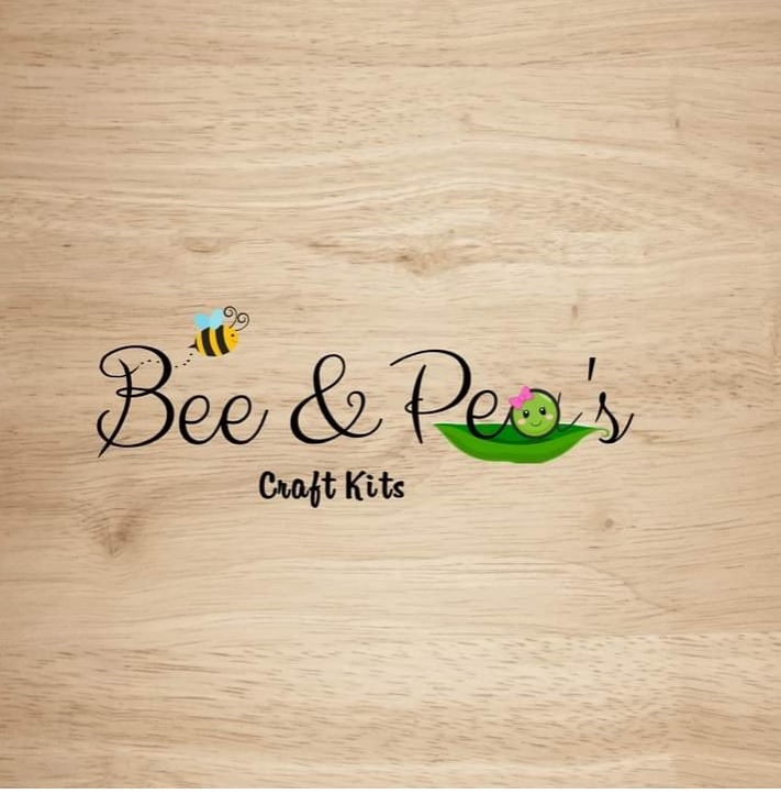 Bee and Pea's craft kits logo